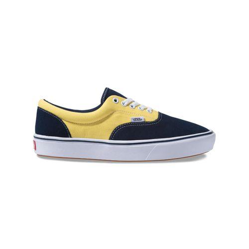 tenis-vans-era-comfycush-azul-e-amarelo