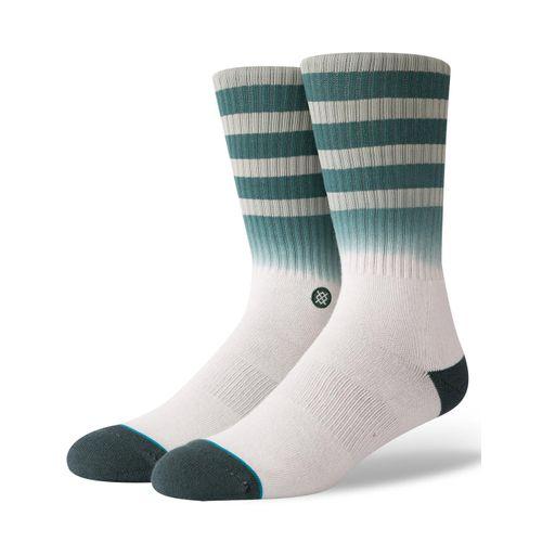 meia-stance-uncommon-solids-listras-verde