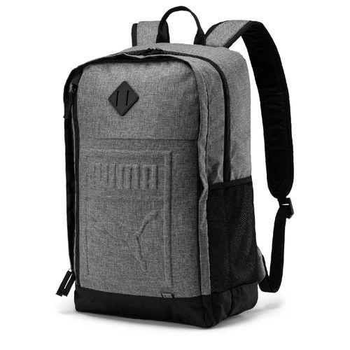 mochila-puma-s-backpack-cinza