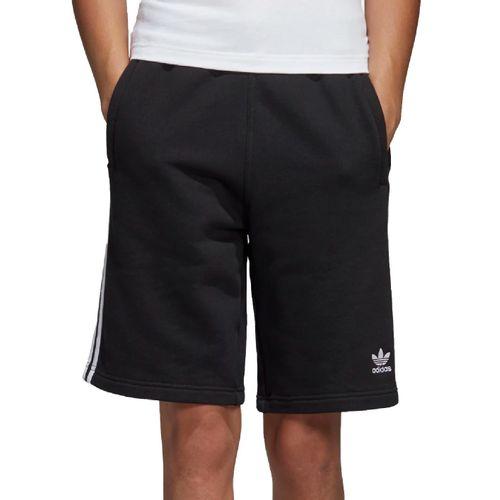 bermuda-adidas-3-stripes-preto