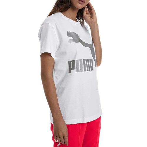 camiseta-puma-classics-logo-branca-prata