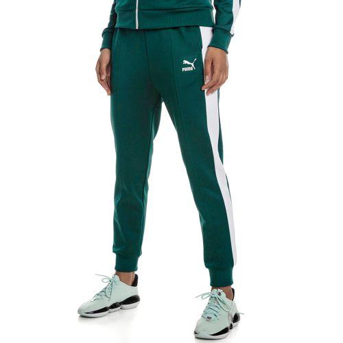 calca-puma-classics-t7-track-verde