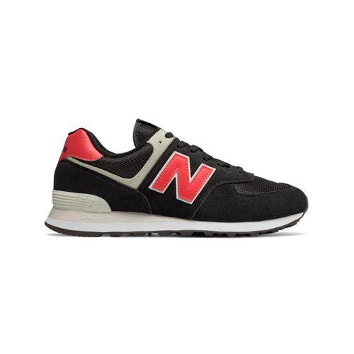 Tenis-New-Balance-574-Preto-e-Vermelho