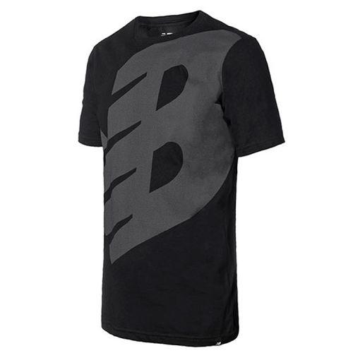 Camiseta-New-Balance-Logo-Preta