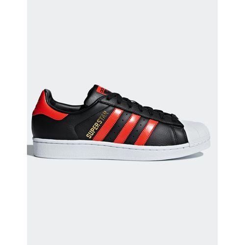 Tenis-Adidas-Superstar-Preto-e-Vermelho