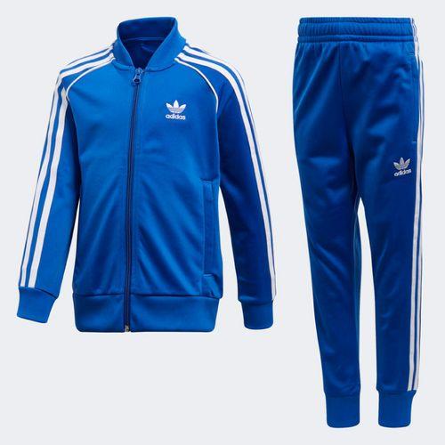 Agasalho-Adidas-Infantil-Trefoil-SST-Azul