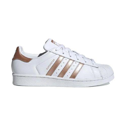 Tenis-Adidas-Superstar-Branco-e-Dourado