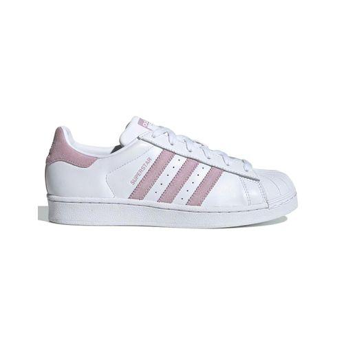 Tenis-Adidas-Superstar-Branco-e-Rosa