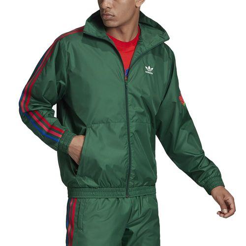 Jaqueta-Adidas-Trefoil-3D-Verde