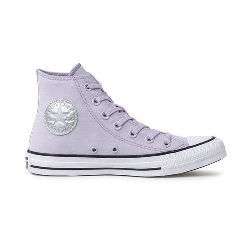 Tenis-Converse-Chuck-Taylor-All-Star-Hi-Lilas-Prata---LILAS