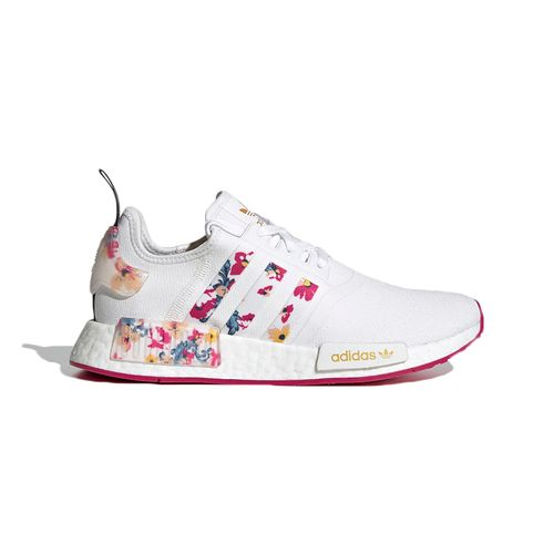 Tenis-Adidas-NMD-R1-Branco-Floral---BRANCO