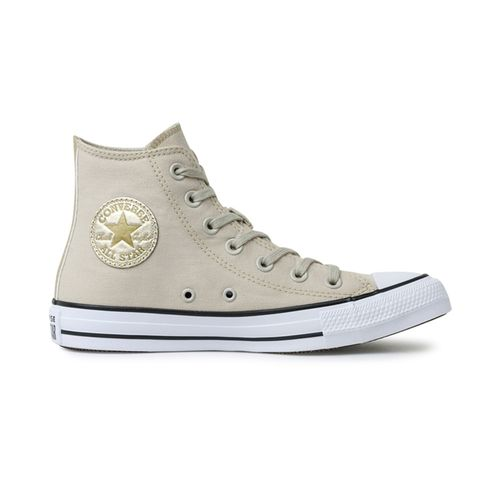 Tenis-Converse-Chuck-Taylor-All-Star-Hi-Bege-Ouro---BEGE