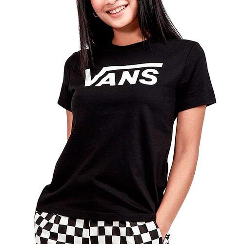 Camiseta-Vans-Flying-V-Crew-Preto