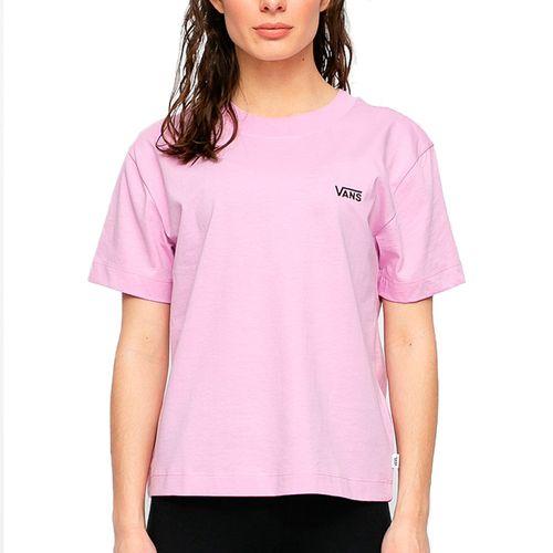 Camiseta-Vans-Junior-V-Boxy---ROSA