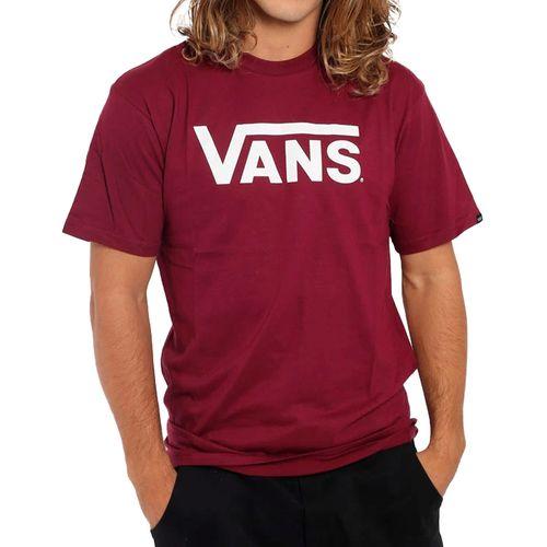 Camiseta-Vans-Logo-Vinho