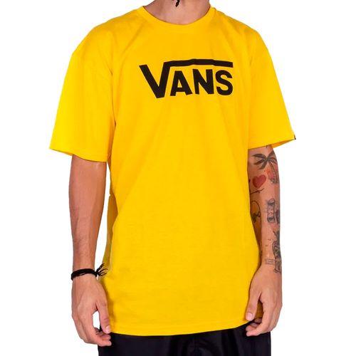 Camiseta-Vans-Logo-Classic-Lemon-Chrome