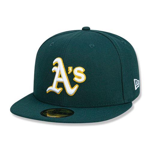 Bone-59FIFTY-Oakland-Athletics-Mlb---VERDE